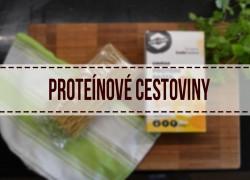 Proteínové cestoviny