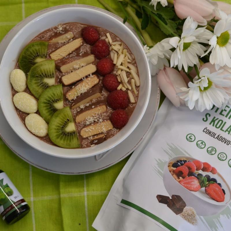 Proteínová kaša s kolagénom: čokoládovo-ryžová 500g