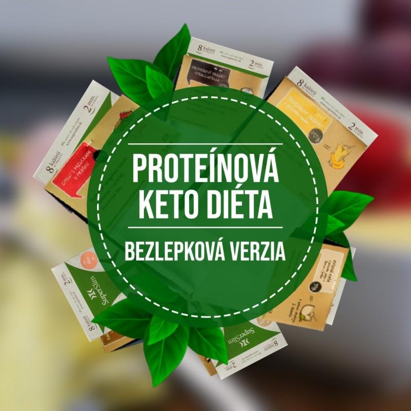 2. FÁZA proteínová KETO diéta