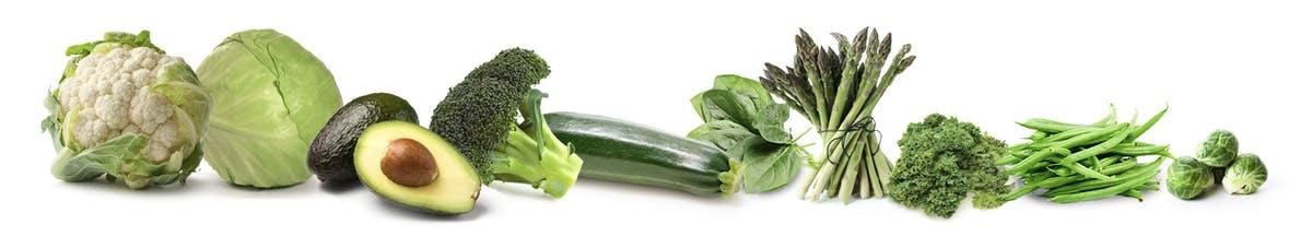keto dieta povolena zelenina